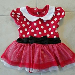 Minnie Mouse dress 9-12 months costume